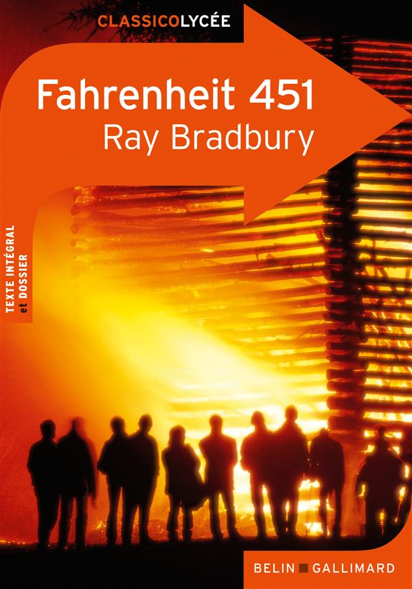 FAHRENHEIT 451, DE RAY BRADBURY MANGIN, LAURE BELIN