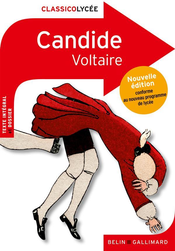 CANDIDE, DE VOLTAIRE VOLTAIRE BELIN