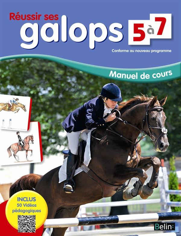 REUSSIR SES GALOPS 5 A 7 Henry Guillaume Belin