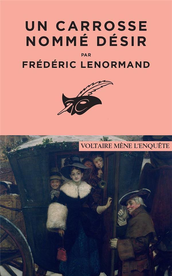 UN CARROSSE NOMME DESIR LENORMAND, FREDERIC EDITIONS DU MASQUE