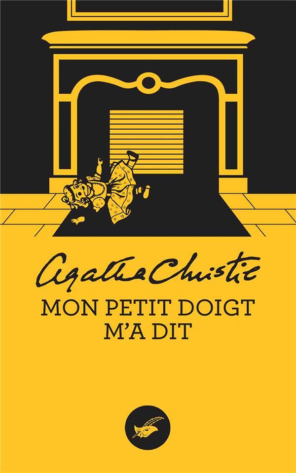 MON PETIT DOIGT M'A DIT CHRISTIE, AGATHA EDITIONS DU MASQUE