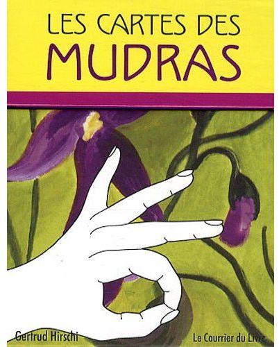 LES CARTES DES MUDRAS HIRSHI GERTRUD COURRIER LIVRE