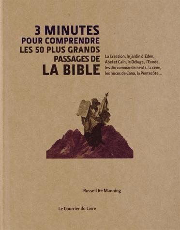 RE MANNING, RUSSELL - 3 MINUTES POUR COMPRENDRE LES 50 PASSAGES ESSENTIELS DE LA BIBLE