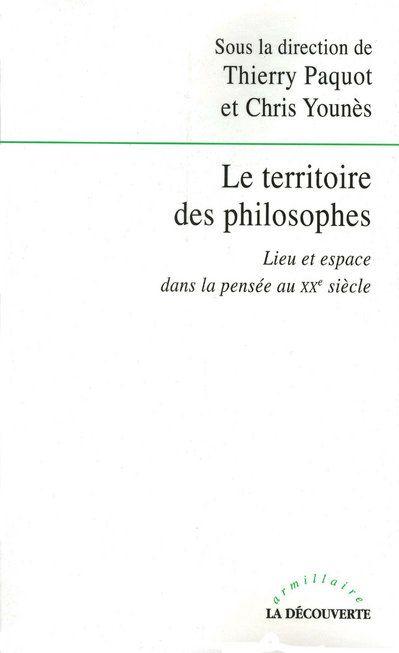 LE TERRITOIRE DES PHILOSOPHES