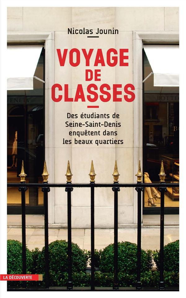 VOYAGE DE CLASSES Jounin Nicolas La Découverte