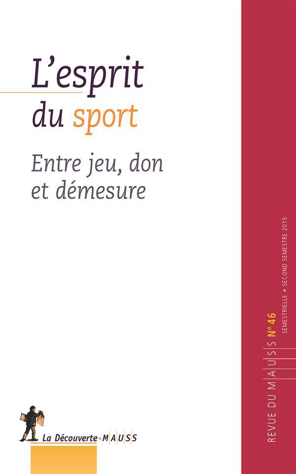 Revue du MAUSS L'esprit du sport