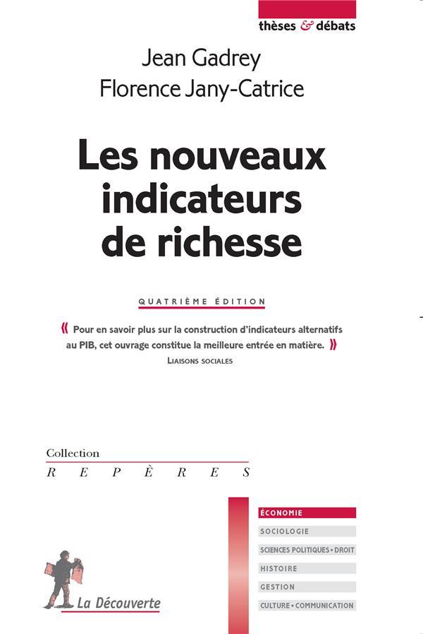 LES NOUVEAUX INDICATEURS DE RICHESSE (4E EDITION)