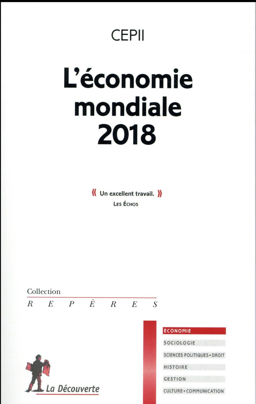 L'ECONOMIE MONDIALE 2018
