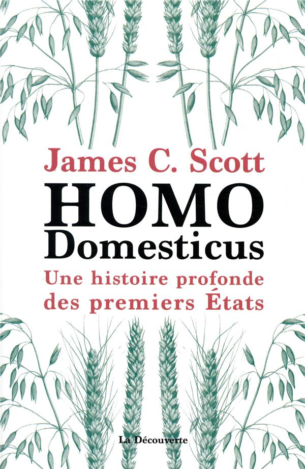 HOMO DOMESTICUS - UNE HISTOIRE SCOTT/DEMOULE LA DECOUVERTE