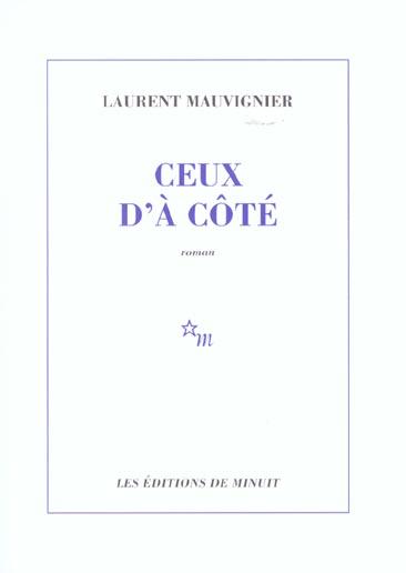 CEUX D A COTE