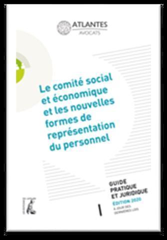 LE COMITE SOCIAL ET ECONOMIQUE ET LES NOUVELLES FORMES DE REPRESENTATION DU PERSONNEL - GUIDE PRATIQ