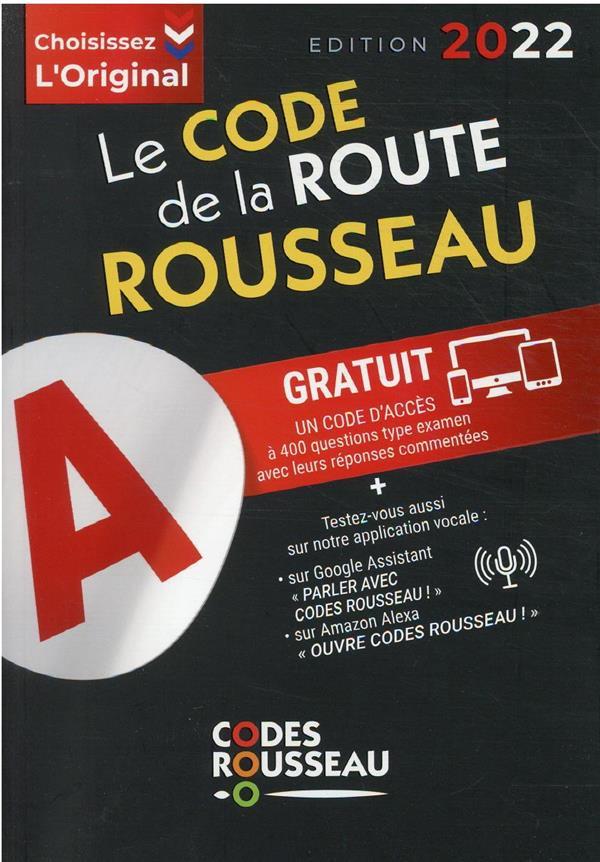 CODE ROUSSEAU  -  DE LA ROUTE B (EDITION 2022) XXX MICHELIN