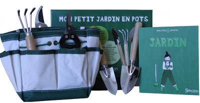 COFFRET MON PETIT JARDIN EN POT LIVRE AVEC SET DE JARDINAGE COLLECTIF SELECTION READE