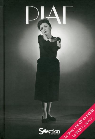 PIAF  -  COFFRET  -  CD EN PUBLIC  -  DVD DE LA MOME HIEGEL PIERRE SELECTION READE