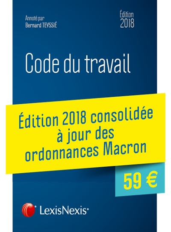 Code du travail 2018