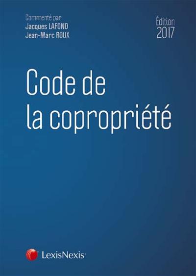 CODE DE LA COPROPRIETE 2018