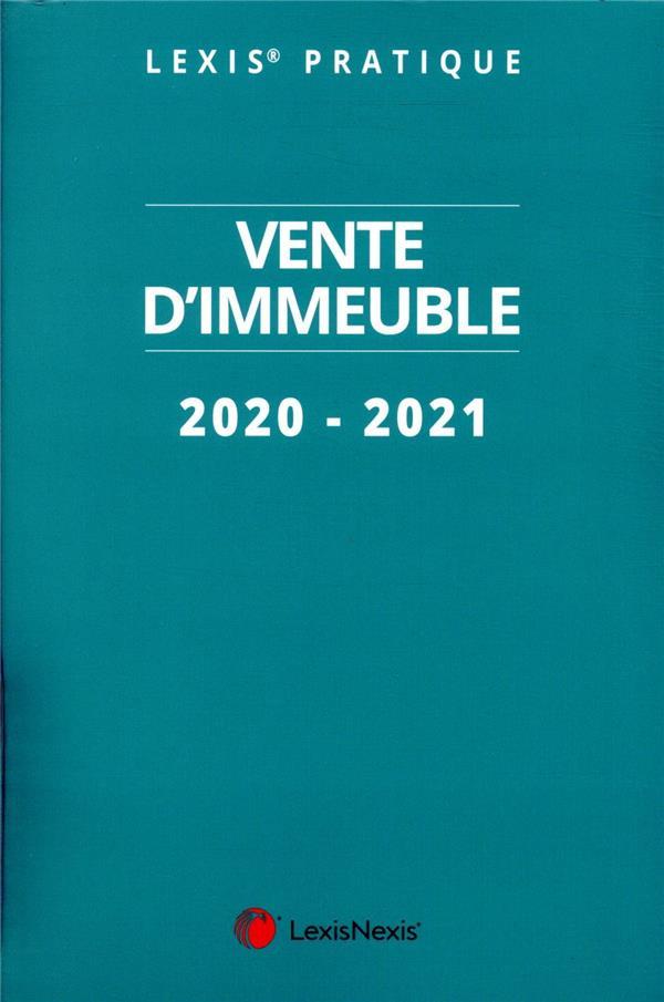 VENTE D'IMMEUBLE (EDITION 20202021)