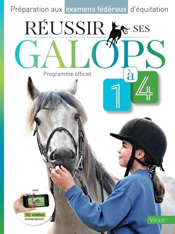 REUSSIR SES GALOPS 1-4  VIGOT