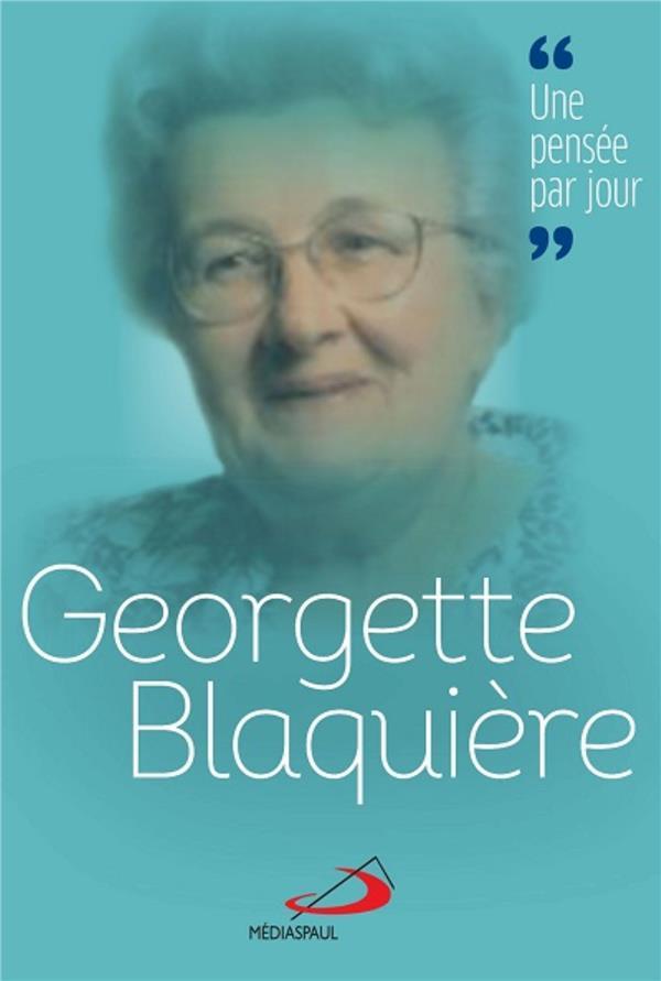 GEORGETTE BLAQUIERE