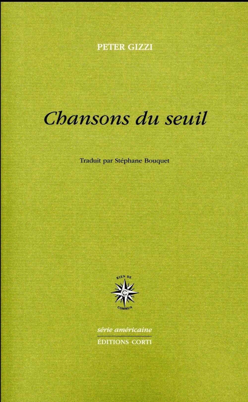 CHANSONS DU SEUIL