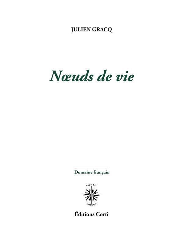 NOEUDS DE VIE