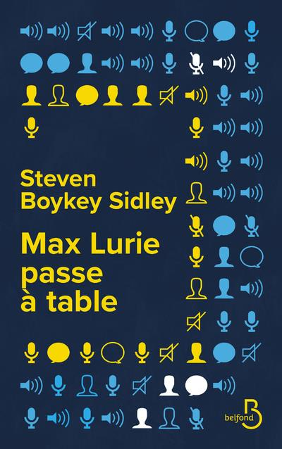 MAX LURIE PASSE A TABLE