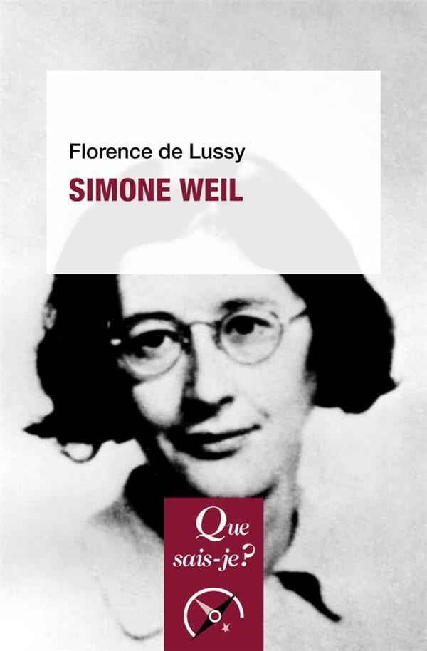 SIMONE WEIL (2E EDITION)