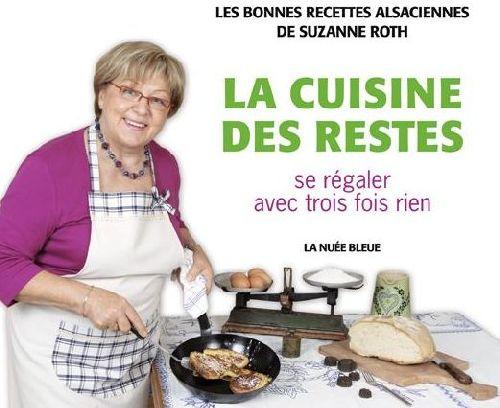 LA CUISINE DES RESTES SUZANNE ROTH NUEE BLEUE /QUOTIDIEN RETOURS