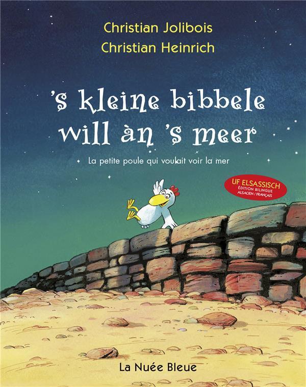 -S KLEINE BIBBELE - LA PETITE HEINRICH ET JOLIBOIS NUEE BLEUE /QUOTIDIEN RETOURS