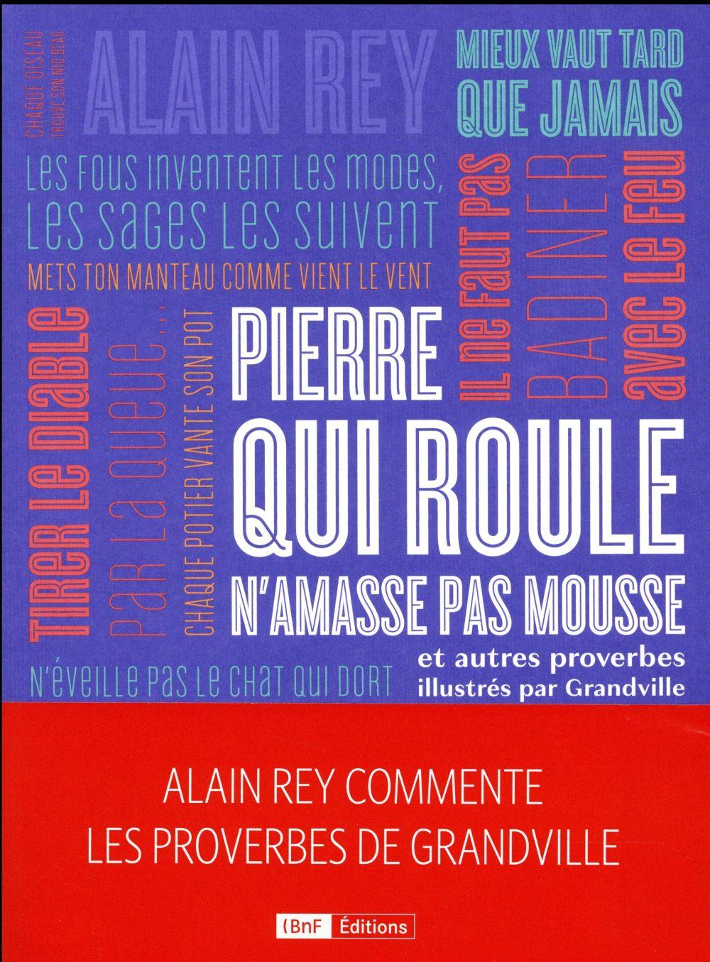 PIERRE QUI ROULE N-AMASSE PAS REY ALAIN BNF