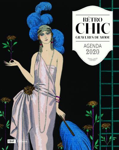 AGENDA 2020 RETRO CHIC - GRAVURES DE MODE COLLECTIF CTHS EDITION