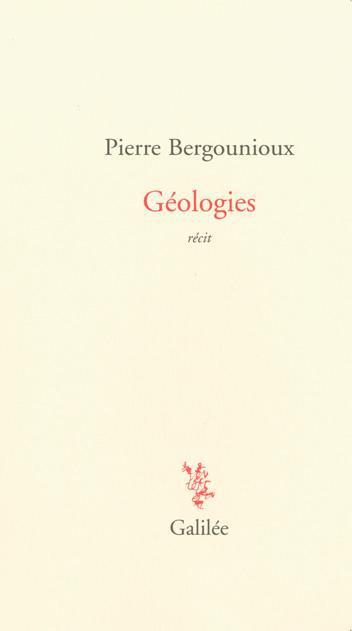 Géologies