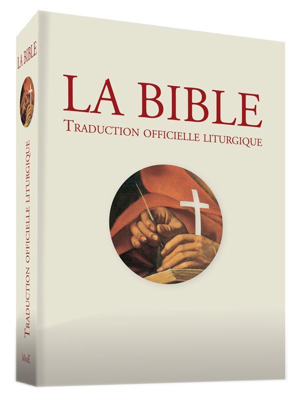 BIBLE - TRADUCTION OFFICIELLE LITURGIQUE - EDITION PASTORALE