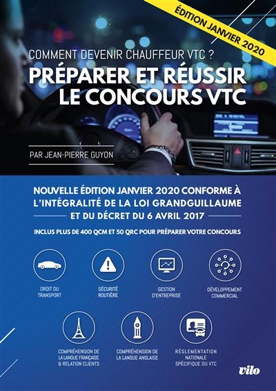 PREPARER ET REUSSIR LE CONCOURS VTC GUYON JEAN-PIERRE PELICAN