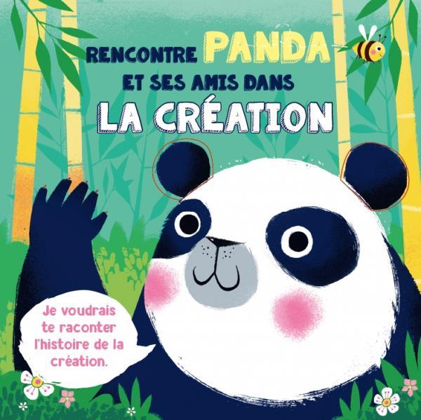RENCONTRE PANDA ET SES AMIS DANS LA CREATION