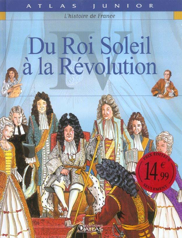 L'HISTOIRE DE FRANCE T.4  -  DU ROI SOLEIL A LA REVOLUTION XXX Glénat