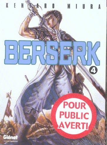 BERSERK T.4 MIURA-K Glénat