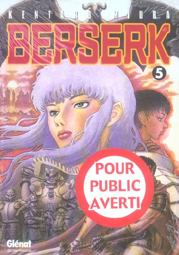 BERSERK - TOME 05 MIURA KENTARO Glénat