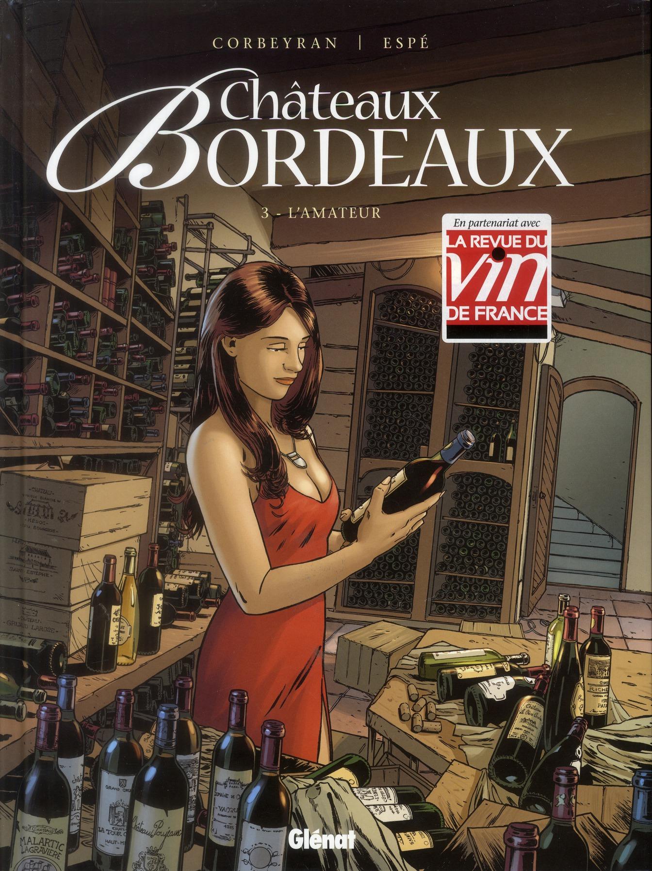Châteaux Bordeaux L'amateur Vol.3 Espé Glénat