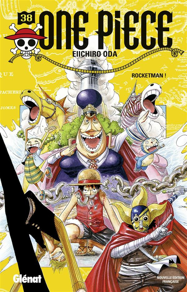 ONE PIECE - EDITION ORIGINALE - TOME 38 - ROCKETMAN ! Oda Eiichiro Glénat