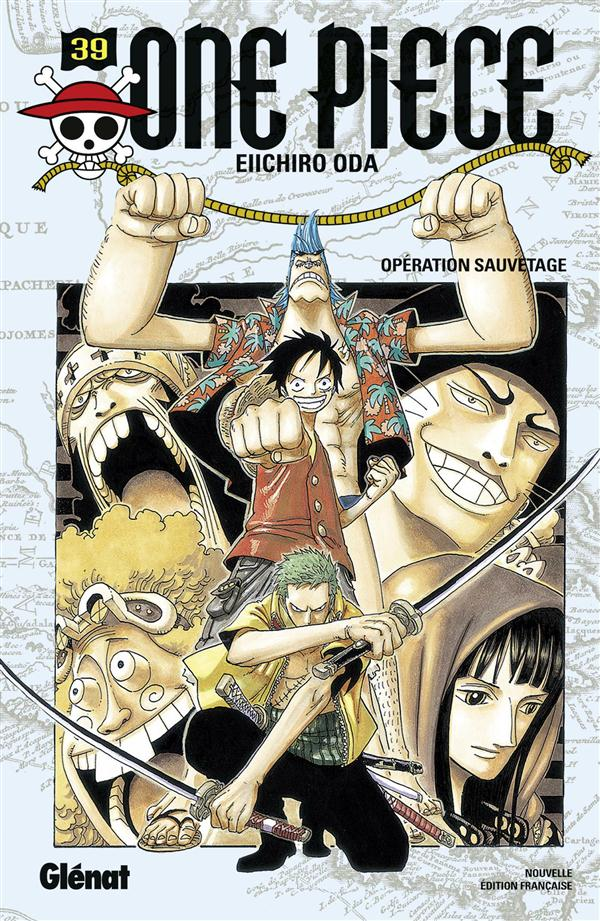 ONE PIECE - EDITION ORIGINALE - TOME 39 - OPERATION SAUVETAGE Oda Eiichiro Glénat