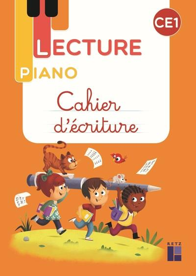 LECTURE PIANO  -  CE1  -  CAHIER D'ECRITURE (EDITION 2021)
