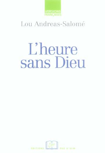 L' HEURE SANS DIEU
