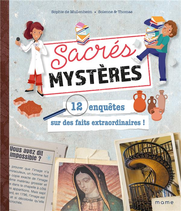 SACRES MYSTERES  -  12 ENQUETES SUR DES FAITS EXTRAORDINAIRES