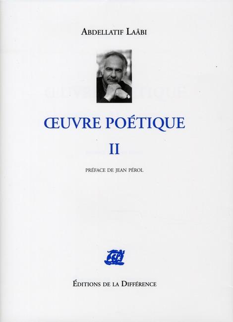 OEUVRE POETIQUE II