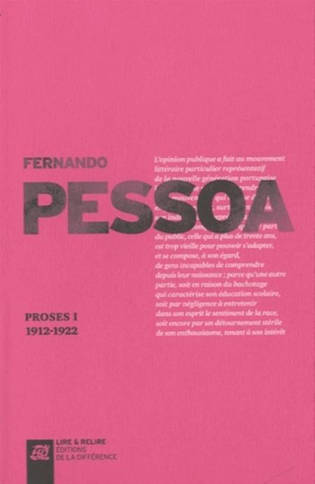 PROSES - VOLUME I 1912-1922