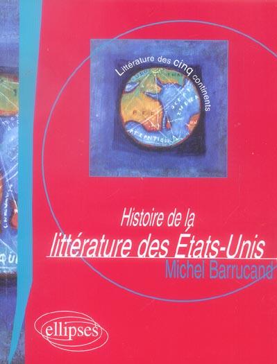 HISTOIRE DE LA LITTERATURE DES ETATS-UNIS