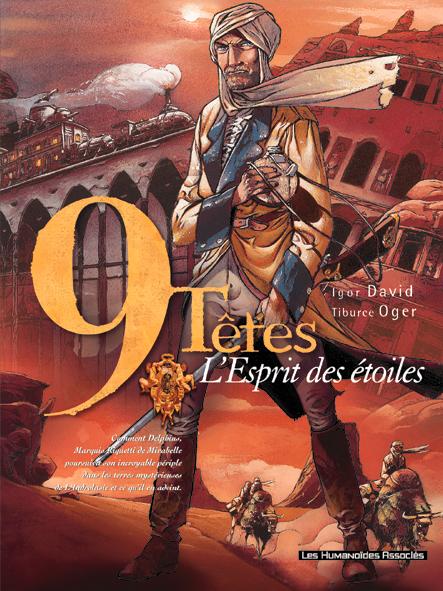 9 TETES T.3  -  L'ESPRIT DES ETOILES DAVID-I+OGER-T CASTERMAN