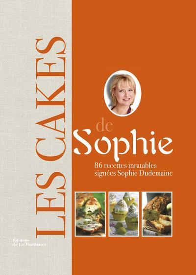 LES CAKES DE SOPHIE. 86 RECETT DUDEMAINE SOPHIE MARTINIERE BL