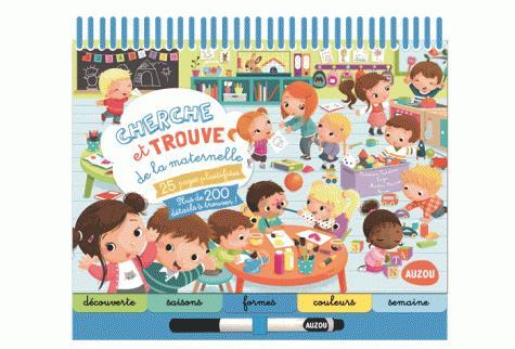 CHERCHE ET TROUVE DE LA MATERNELLE - EDITION 2015 (COLL. BLOC-NOTES) TURDERA C/ZAZA Auzou